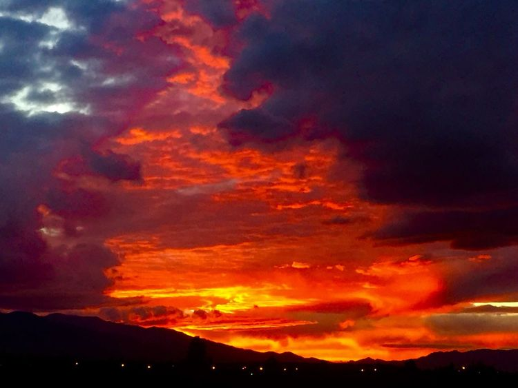 Brilliant sky during the monsoon season in Safford, Arizona 2015. Safford Weather Light Skies Nature Nature_collection Clouds And Sky Arizona Sky Beauty In Nature Rainy Days Nature Photography Clouds Colorsplash Skypainters Beauty