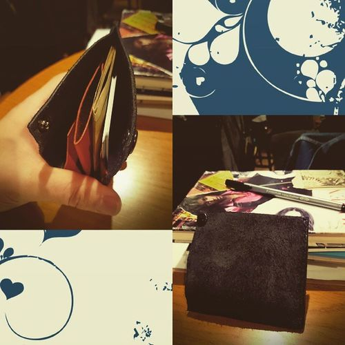 Handmade Leather Wallet Handmade Leather Wallet Livesimple CraftsMade with @nocrop_rc rcnocrop