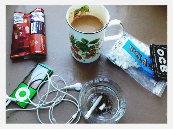 Hello World Morning Enjoying Life Cofee Time