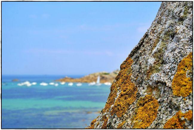 last summer Sky Sea Rock Water Nature Beauty In Nature Day Rock - Object Beach Horizon