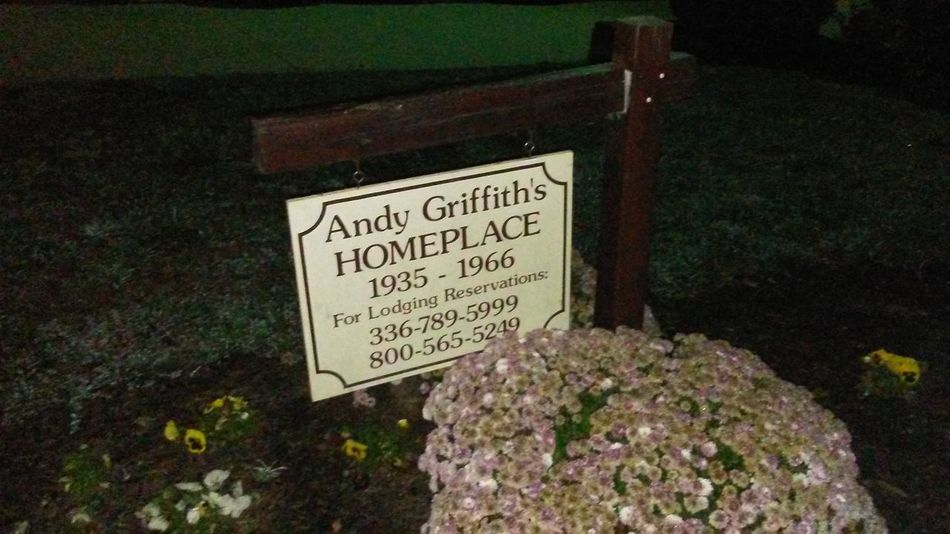 Andy griffith mt airy Text High Angle View Communication No People Handwriting  Outdoors Close-up Day mount airy