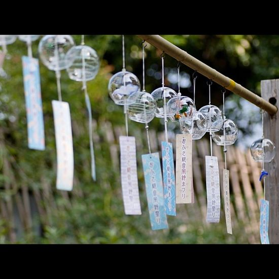 Japan Nara EyeEm Best Shots OpenEdit Tommy@collection 風鈴 Wind Windchimes 奈良 おふさ観音