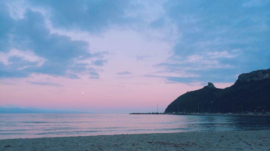 Nature Sea Sunset Landscape