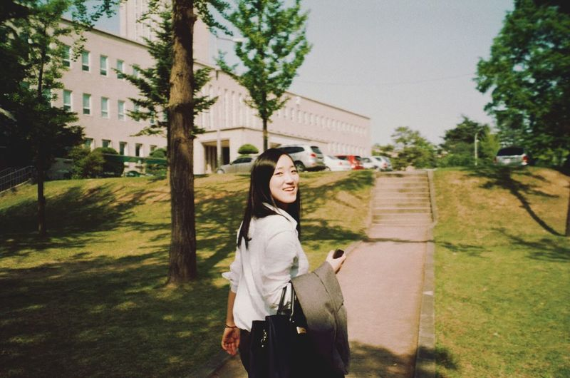 오랜만에 필름 스캔 Film Camera Taking Photos NATURA Classica Smile