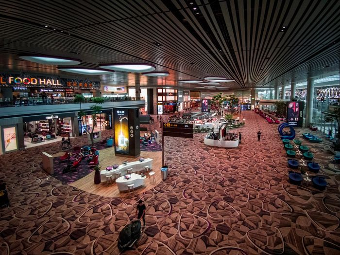 Singapore Airport Travel Architecture Built Structure Incidental People Building Exterior City Illuminated Market Real People Choice Transportation Shopping Group Of People Arrangement