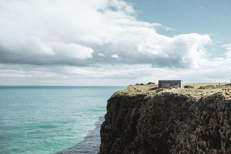 ESPN Fowlsheugh Aberdeenshire Scotland Crawton RSPB Fowlsheugh Water Sea Beach Summer Sand Wave Horizon Sky Horizon Over Water Cloud - Sky Seascape Coastline Coast Coastal Feature Ocean