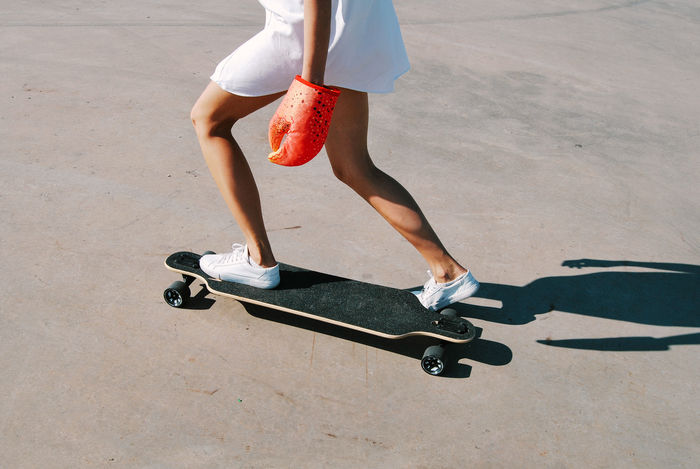 Board Casual Clothing City Life Claw Crab Fun Having Fun Legs Lifestyles Longboard Model Motion Outdoors Person Shoe Skateboard Skateboarding Sport Summer Young Young Adult My Year My View Enjoy The New Normal BYOPaper! Live For The Story
