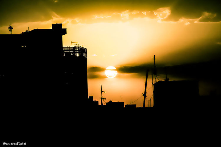 Canon60d Recovery Time Buildings Photoshop Landscape Light And Shadow Silhouette Photography Feeling Technical Effect