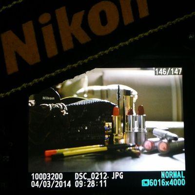 صباح العشق للنيكون.. تجاربي مع التصوير البداية احترافي ? تصويري  مكياجي احتراف نيكون Nada1988 Nikon Mikyajy