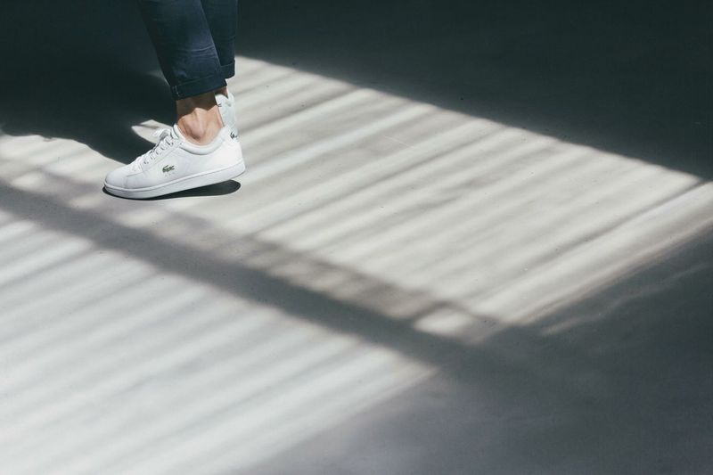 Lacoste Lacoste Live Werhaus Bcn Barcelona SPAIN Details Minimalism Minimal Sneakers Sneakersaddict Chiaroscuro  Sunlight And Shadows Feet Ankle