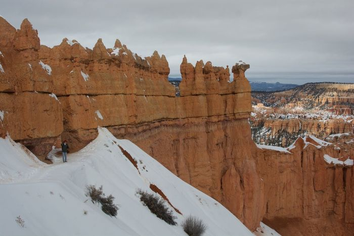 Beauty In Nature Bryce Canyon Cold Temperature EyeEm Best Shots EyeEm Nature Lover Eyem Best Shots Landscape Miles Away Mountain Nature Nature Nature_collection Outdoors Roadtrip Scenics Snow Taking Photos Tourism Travel Travel Destinations Vacations Winter