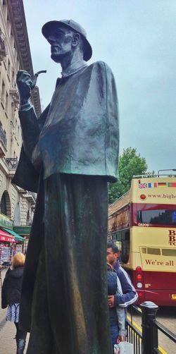 Bronze Sherlock Holmes London's Streets
