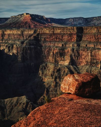 Travel Destinations Travel Traveling Desert Beauty Photography Vacations Grand Canyon Saturation Natural Beauty National Park Contrast Rock - Object Sky Landscape Geology Rugged Natural Landmark Eroded Physical Geography Canyon Rock Formation
