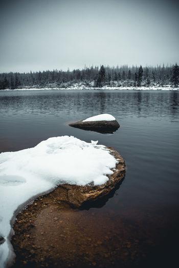 Eissee im Harz