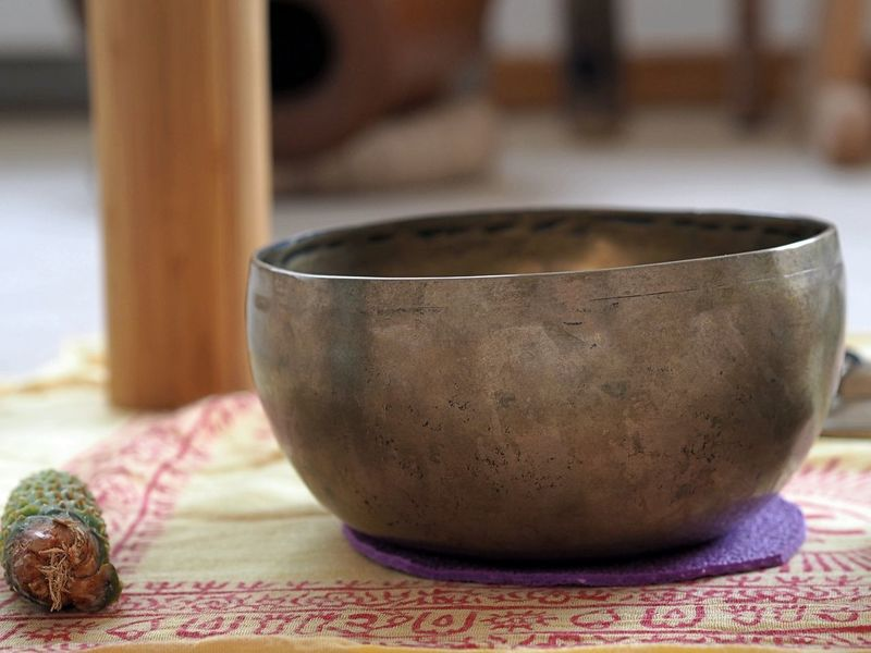 EyeEm Gallery EyeEmNewHere Meditation Relaxing Singing Bowls Sound Stress Yoga Close-up Day Focus On Foreground Indoors  Pattern Selective Focus Sound Therapy Wellbeing Wellbeingfrominside