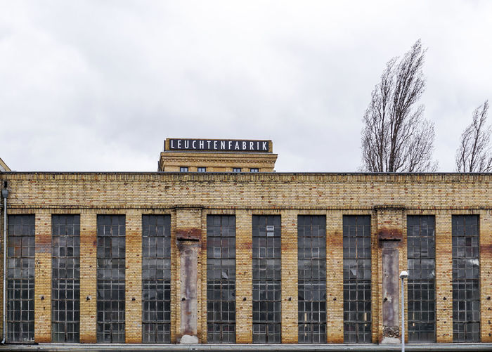 old industrial building in Berlin Schoeneweide No People Text Sky Architecture Built Structure Tree Industry Industrial Building  Capital Letter