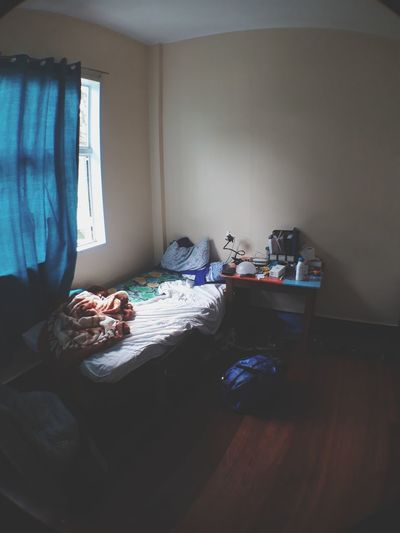 morning chat with God Messy Room EyeEm Selects Domestic Room Bed Home Interior Home Improvement