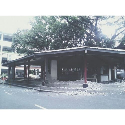 aww goodbye la cantina. so much college memories that happened to me here.. and oh.. cramming days. lol Donbosco Dbtc Bosconian - regram from @papogee