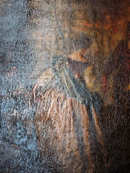Art Detail Backgrounds Close-up Day No People Outdoors Painting Painting Art Textured