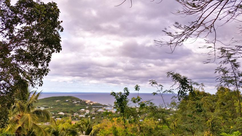 Landscape Scenics No People Outdoors Clouds And Sky Sea St.Croix, US Virgin Islands