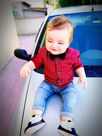 Kucuk adammmm👶 Baby Babies Only Happiness People Baby Stroller Full Length Front View One Person Childhood Smiling Day Portrait Sitting Cheerful Outdoors Adult