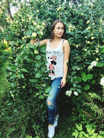 🍏🍏🍏 Apple Garden Nature Village Russia яблоки яблоня дача сад Tears Россия Природа лето июль Summer July