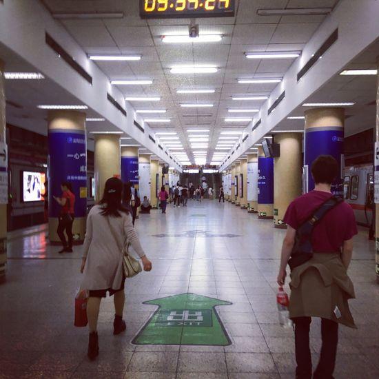 Beijing Beijing Walking Real People Illuminated Women Men Lifestyles Leisure Activity Large Group Of People Indoors  Day People Adult The Street Photographer - 2017 EyeEm Awards