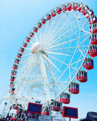 Ferris Wheel Arts Culture And Entertainment Low Angle View Sky EyeEmNewHere