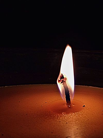 EyeEm Selects Candle Flame Candle Wick Dark Illuminated Night No People Single Flame