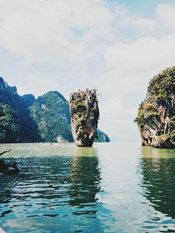 Thailand #travel #photography Beach #Phuket #JustMe Pool #Landmark #alone #palace Sea Phangnga Island