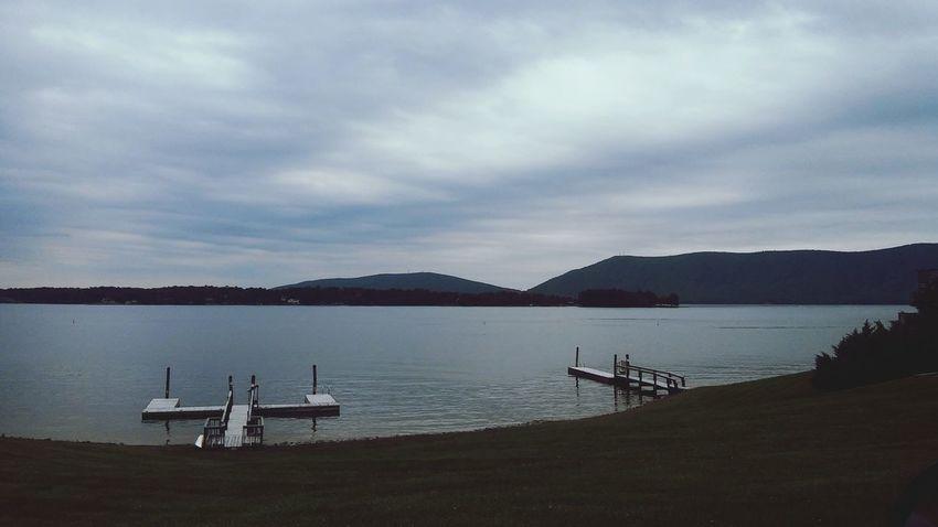 Grey Sky Lake Life Clouds And Sky Smith Mountain Lake