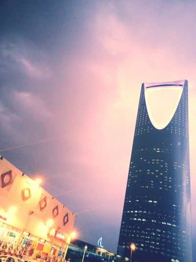 Night shoot.. Lightning In Riyadh Winter Wonderland