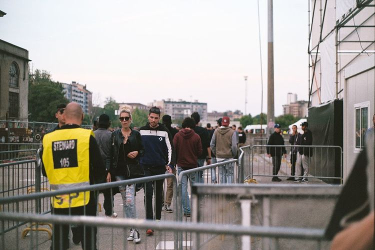Milan Milano Concert Hipster Millennials Music Festival Real People Street Style