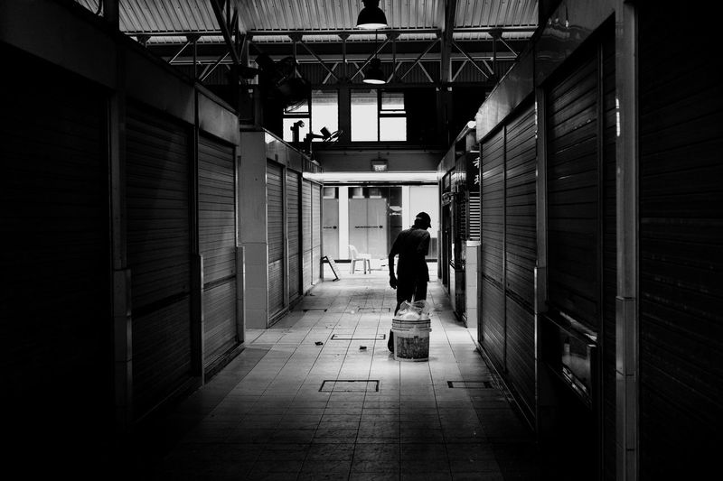 Clearing up B&w Blackandwhite Streetphotography Streetphoto_bw Shillouette Walking Around