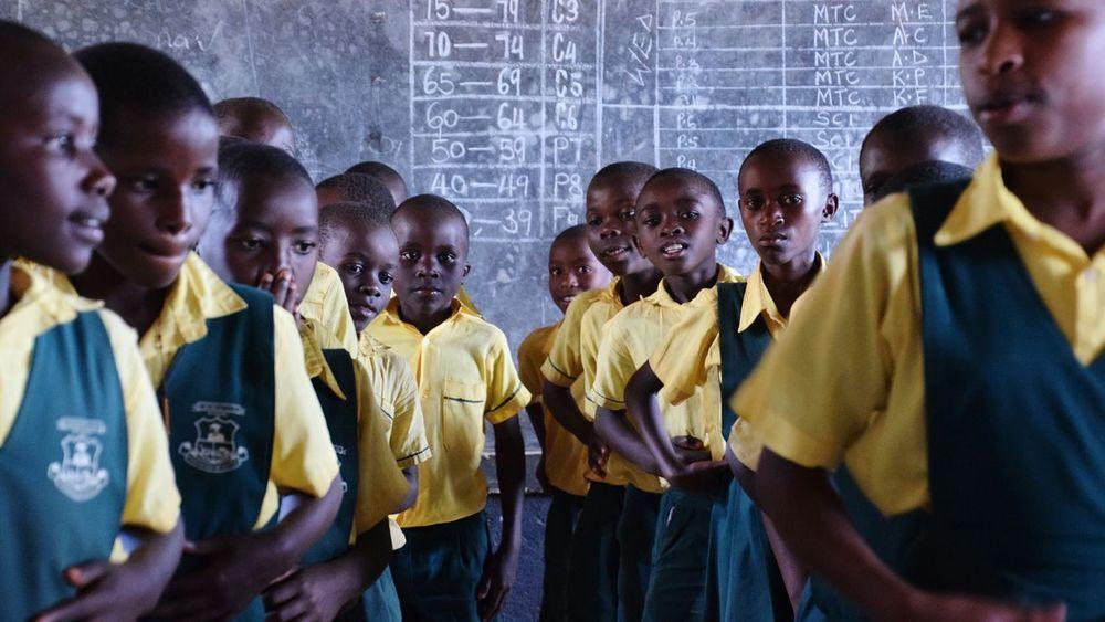 Ntungamo Uganda Dancer Large Group Of People School Student Celebration Event Girls Boys Student Life Portrait Standing This Is My Skin
