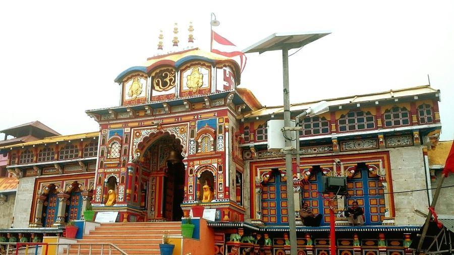 Auspicious Badrinath Temple Garhwal, Himalayas India