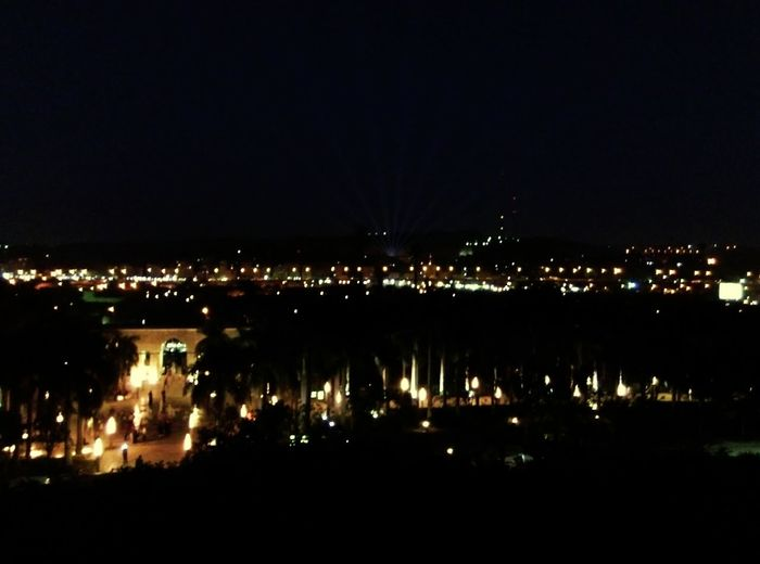 Night Reflection Illuminated Outdoors No People Sky City Nature