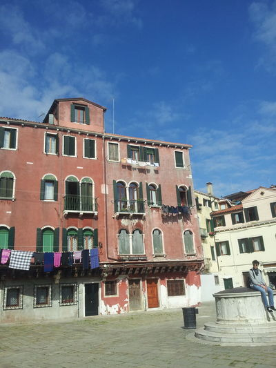 People And Places Outdoors Built Structure Day Residential Building Tourist Destination Urban Exploration Smartphone Photographer , Venezia,2016