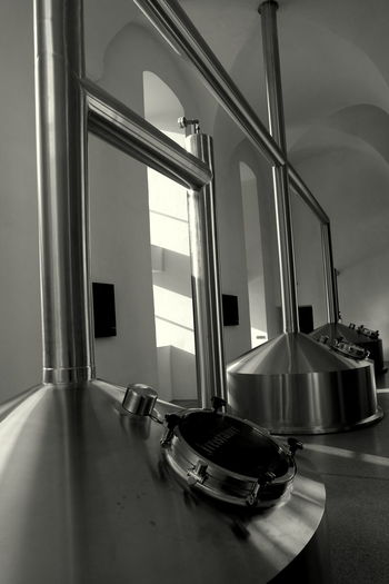 Architecture Austria Beer Black And White Blackandwhite Photography Brewery Brewing Beer Design Freistadt Indoors  Industrial Industrial Design Industrial Photography Industrialbeauty Metal Technology