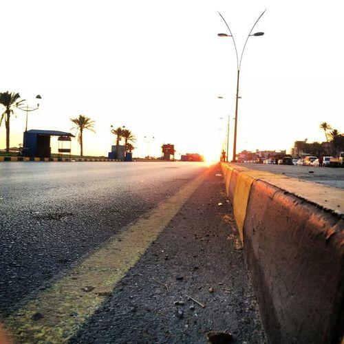 Road Steeet Sun Light