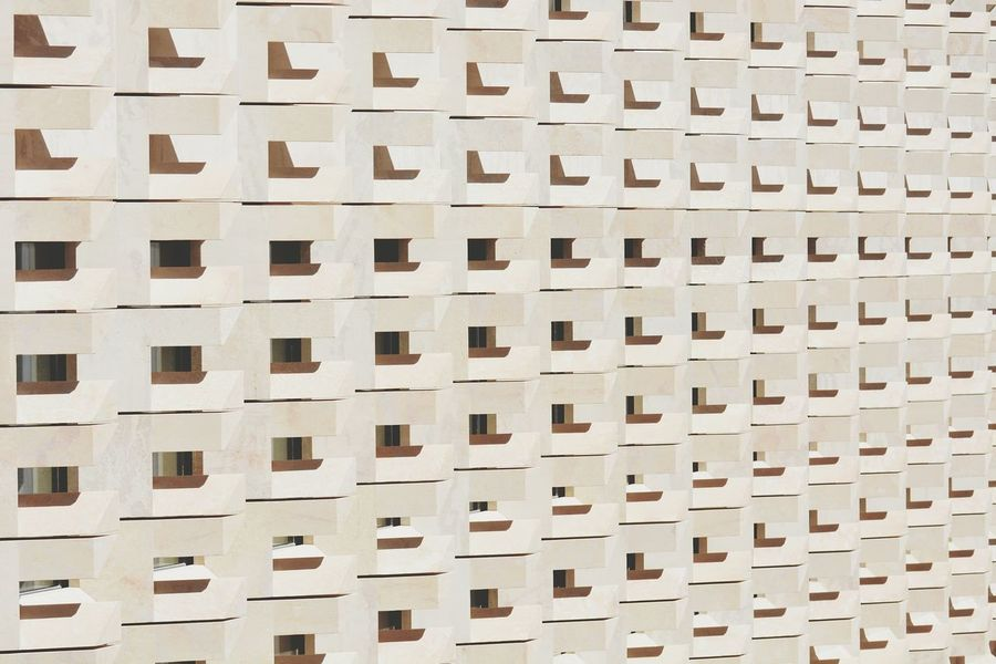 Full Frame Backgrounds Architecture Residential Building Built Structure Window Pattern Apartment Building Exterior Outdoors No People City Day The Architect - 2017 EyeEm Awards The Great Outdoors - 2017 EyeEm Awards BYOPaper!