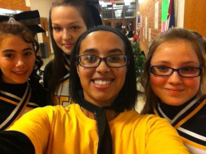 My Cheer Bestfriends ❤ Loving High School