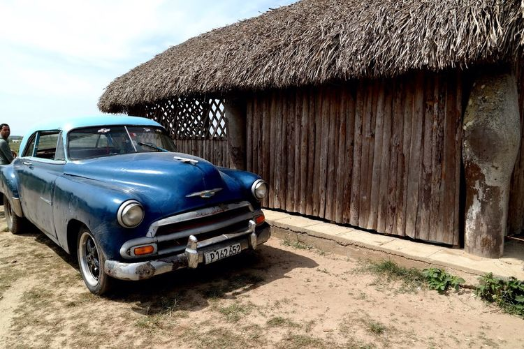 Cuba Collection Cuba Viñales Vintage Cars Oldtimer Blue Car Old Car From My Point Of View Landscape_Collection Tobacco Cuban Cars EyeEm Gallery EyeEm Best Shots Eye4photography  EyeEm Selects EyeEmBestPics Cuban Life Tobacco Plantation Vinales Cuba Carribean As Time Goes By Cuban Style Tobacco Barn Traditional EyeEm Masterclass