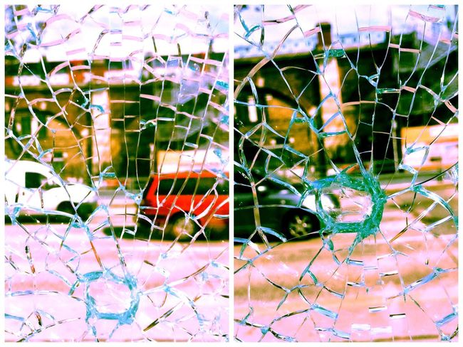The Magic Mission Multi Colored Close-up Full Frame Colorful Branch Decoration Day Creativity Messy Damaged No People Broken Glass Diptych/Triptych Diptyque