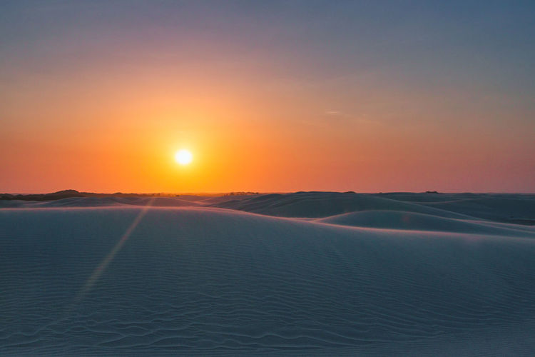 After having some kitesandboarding lessons we enjoyed the beautiful sunset on top of the dunes! Beauty In Nature Cold Temperature Dawn Day Desert Desert Landscape Idyllic Landscape Minimalism Nature Night No People Outdoors Sand Sand Dune Scenics Simplicity Sky Sun Sunlight Sunrise Sunset Sunshine Tranquil Scene Tranquility The Great Outdoors - 2017 EyeEm Awards EyeEmNewHere Sommergefühle EyeEm Selects Lost In The Landscape Going Remote This Is Latin America The Great Outdoors - 2018 EyeEm Awards Capture Tomorrow A New Perspective On Life