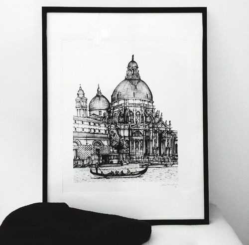 Archisketcher Architecture Architecture_collection Archidaily Architecture Archilovers Architectural Detail Arquitectura Arquitecture Arqsketch Architecturelovers Drawing Venezia