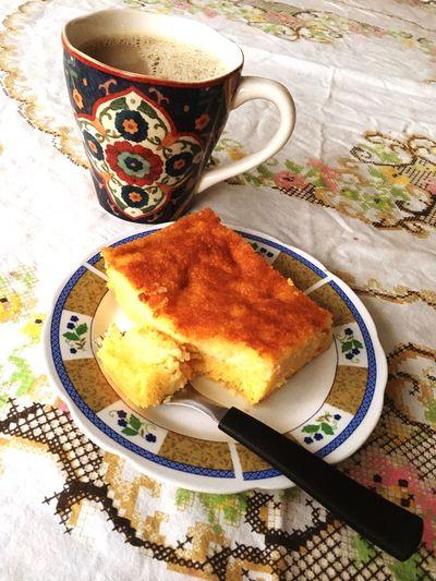 Coffee At Home Coffeeandcake Bolodefuba CafeComLeite