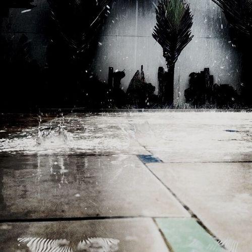 All day rain aint so bad. Rain Raindrops Manila