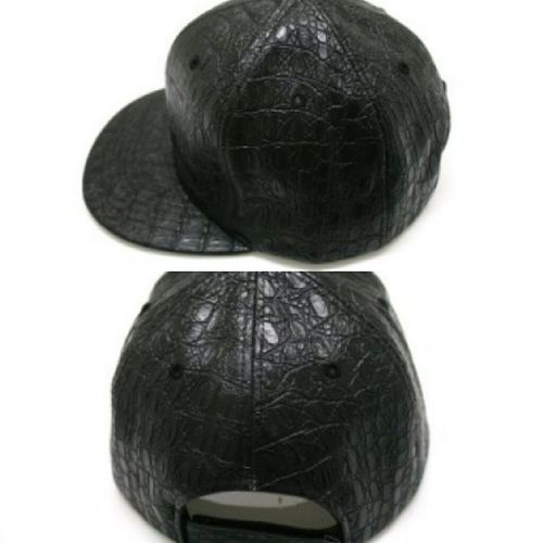 Faux Crocodile Leather Snapback FashionistaProblems Shedidthat AccessoriesJunkie