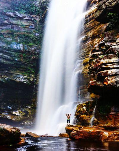 cachoeira do Mosquito Cachoeira Do Mosquito Water Waterfall Beauty Motion Adventure Rapid Long Exposure Beautiful People Forest EyeEmNewHere